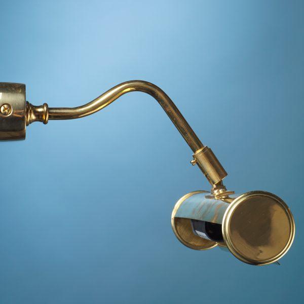 Luč stenska galerijska zlata